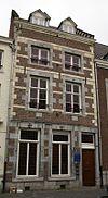 foto van Huis met voorgevel in de trant der zgn. Maaslandse renaissance.