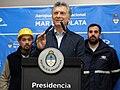 Macri recorre obras de ampliación del Aeropuerto de Mar del Plata 02.jpg