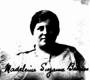 Charles Bemies - Bemies' second wife, Madeleine, in 1920.