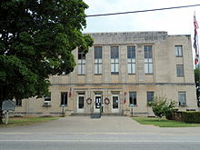 Madison County Courthouse in Huntsville, AR.jpg