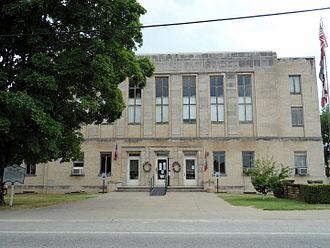 Madison County, Arkansas - Image: Madison County Courthouse in Huntsville, AR