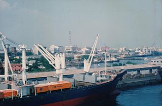 Chennai Port Port of India in the Bay of Bengal