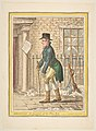 Maecenas, in pursuit of the Fine Arts.–Scene, Pall Mall; a Frosty Morning MET DP818501.jpg
