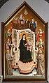 Maestro di Figline, maestà tra i ss. elisabetta d'ungheria, ludovico di tolosa e angeli, post 1317, 03.jpg