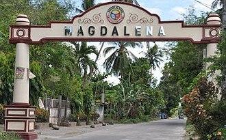 Magdalena, Laguna - Image: Magdalena boundary