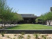 Main entrance to Phoenix Art Museum - 19 June 2008.jpg