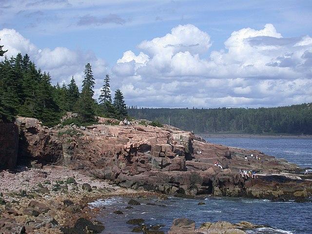 Costa de Maine parque nacional acadia