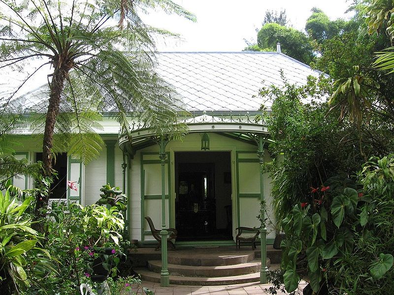 Quoi faire à l'île de la Réunion - visiter la Maison folio à Hell-Bourg, commune de Salazie