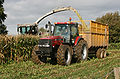 Maize harvest in Child Okeford 20071020.jpg