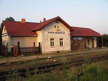 How to get to Malá Hraštice with public transit - About the place