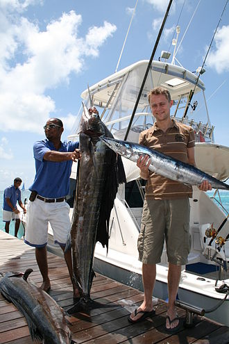 Fishing industry in the Maldives - Tourist fishing in the Maldives