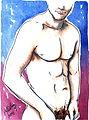 Male Nude in Purple & Blue by Lidbury (14).jpg