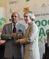 Malik Rafique Rajwana at an Agricultural Partnership at Expo in Lahore (41151147234).jpg