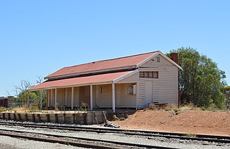 Manangatang railway station - Image: Manangatang Railway Station 001