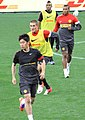 Manchester United training 2012, Cape Town.jpg