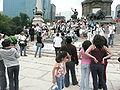 Manifestación de duelo por Michel Jackson DF MEX.JPG