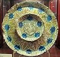 Manises, piatto con scudo di castiglia-léon, 1450-75 ca..JPG