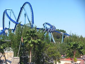 SeaWorld Orlando - Image: Manta at Sea World Orlando 64