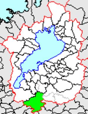 Shigaraki, Shiga - Location of Shigaraki