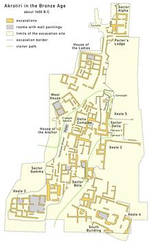 Akrotiri Prehistoric City Wikipedia