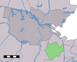 Location of Amsterdam Zuidoost