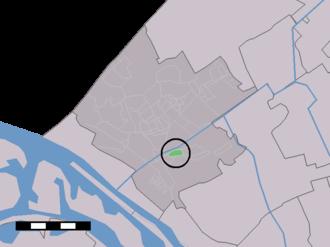Nieuwe Tuinen - Image: Map NL Westland Nieuwe Tuinen
