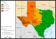Géographie du Texas — Wikipédia