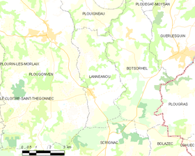 Map commune FR insee code 29114.png