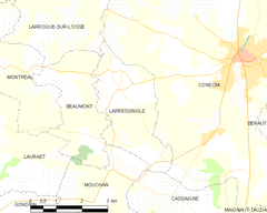 Map commune FR insee code 32194.png