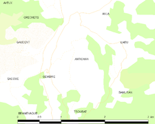 Map commune FR insee code 65014.png