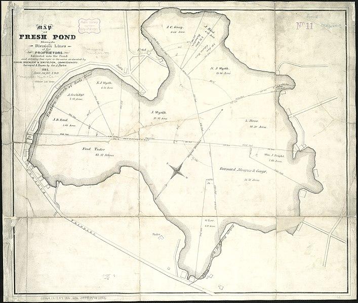 File:Map of Fresh Pond, 1841.jpg