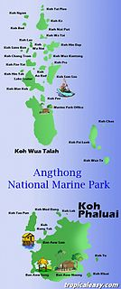 Ko Phaluai island in the Gulf of Thailand