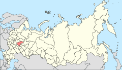 Map of Russia - Nizhny Novgorod Oblast (2008-03).svg