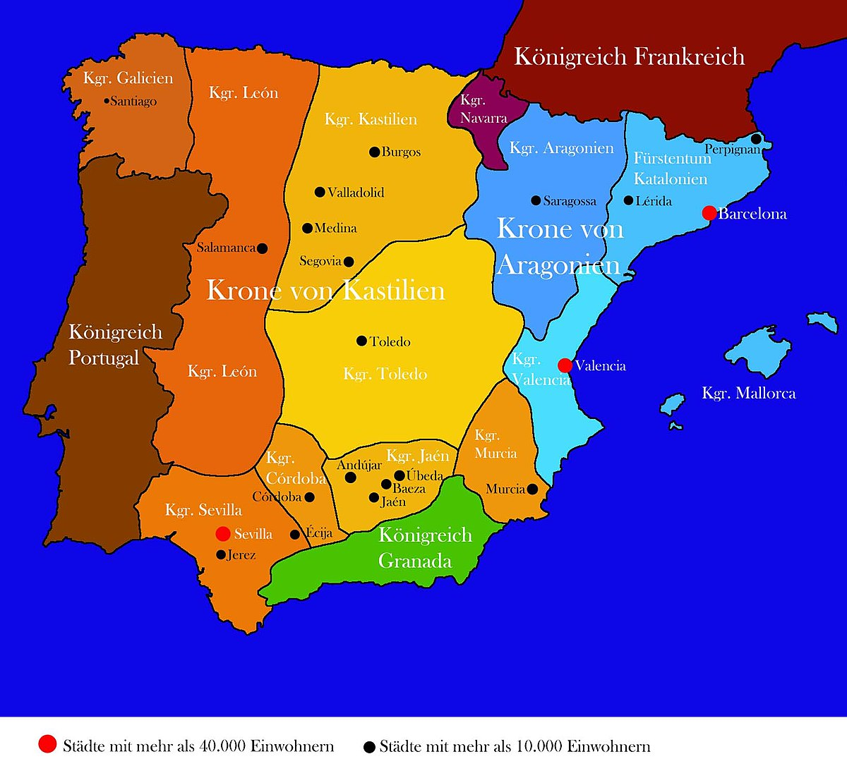 Mallorca map of spain and Palma de