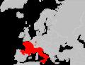 Mapa Lacerta bilineata.png