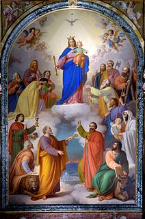 Mary Help of Christians her feast day is on the 24th of may every year