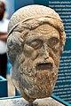 Marble bust of Homer. Roman copy (1st century CE) of an original (460 BCE). Altes Museum, Berlin.jpg