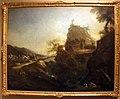 Marco ricci, paesaggio alpestre con ponte, viandanti e anacoreti, 1707-08 ca o post 1715.jpg