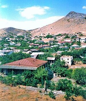 Aghdara (town) - Martakert in 2002