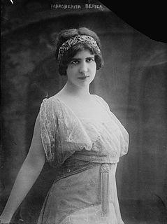 Marguerite Bériza singer