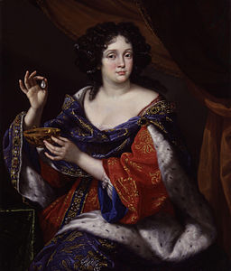 Marie-Anne Martinozzi (née Mancini), Duchess of Bouillon by Benedetto Gennari.jpg