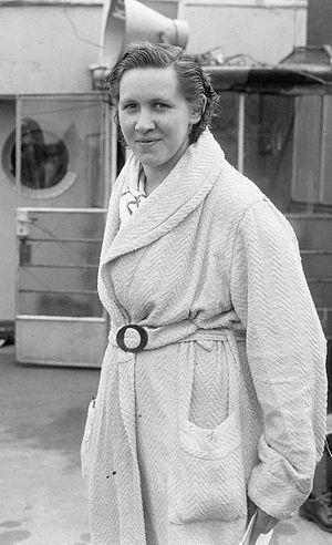 Marie-Louise Linssen-Vaessen - Marie-Louise Linssen-Vaessen in 1952