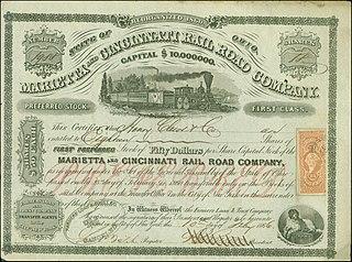 Marietta and Cincinnati Railroad Former railroad in Ohio, United States