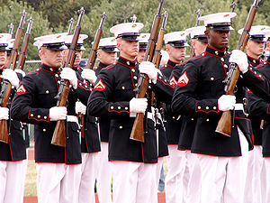 Marine corps silent drill team requirements
