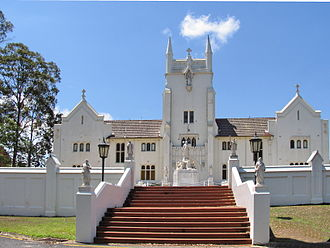 Marist College Ashgrove - Main entrance