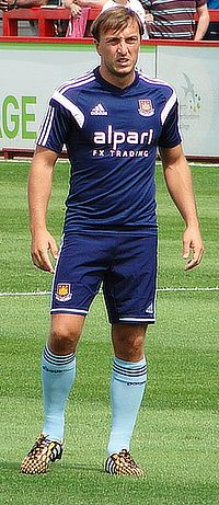 Mark Noble i West Ham 2014