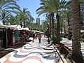 Market stalls, Passeig Esplanada d'Espanya, Alicante, 16 July 2016 (1).JPG