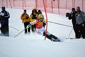 Marlies Schild - Winning at Aspen in November 2006