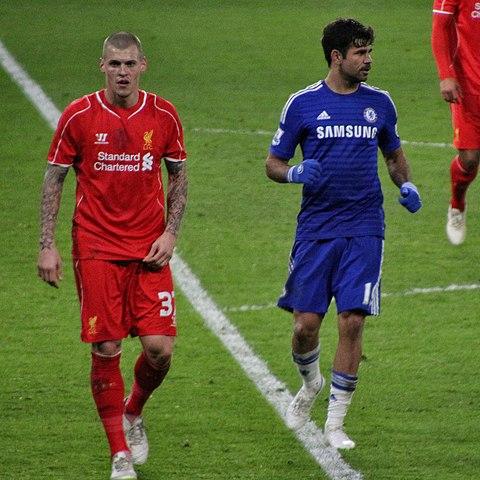 Chelsea 1 lliverpool 0 2 1 agg capital one cup semi final 2nd leg on