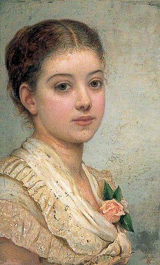 Mary Angela Dickens - Mary Angela Dickens in 1882, by Kate Perugini